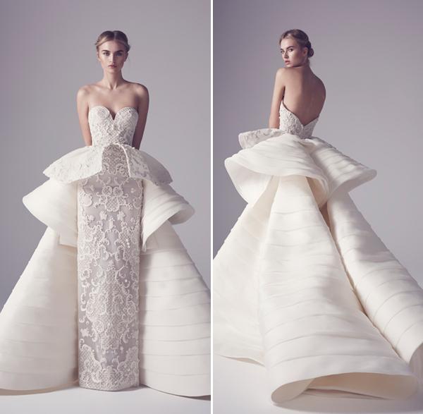 20 Statement Making Modern Minimalist Architectural Gowns