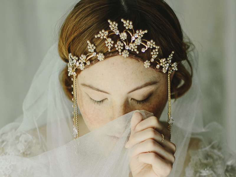 23 Enchanting Amp Ethereal Bridal Headpieces For Fairy Tale