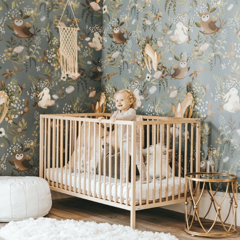 Baby Nursery Wall Decor 20 Lovely Nursery Room Wallpapers