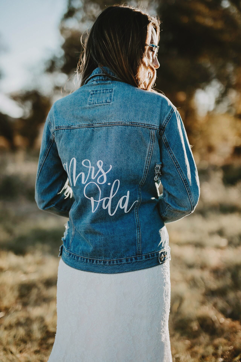 16 Fashion Forward Custom Wedding Jackets To Keep You Warm