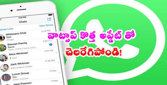 WhatsApp-new update