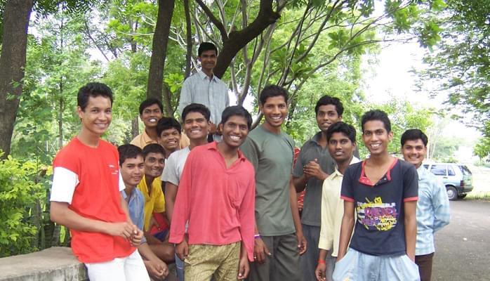 Prakash Boys Institute Students