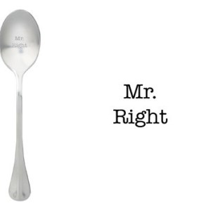 Message spoon Mr right