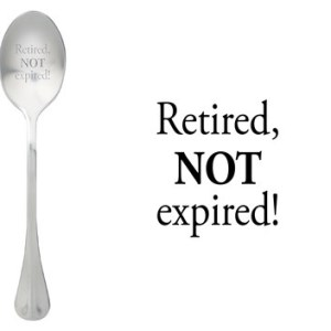 Message spoon retired