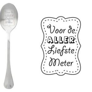 Message spoon Meter