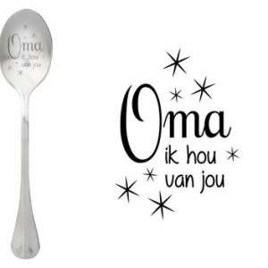 Message spoon oma