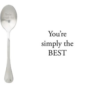 Message spoon simply the best