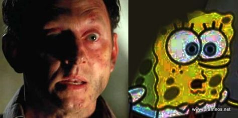 Ben Linus is Spongebob Squarepants