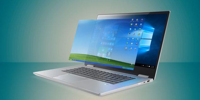 Windows XP di Windows 10