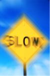 Photo: slow sign