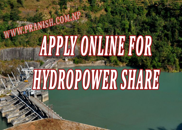 Register online for investment in hyropower in Nepal