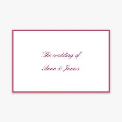 Wedding Invitation Printers Warwickshire Sle
