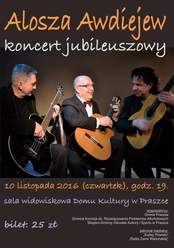 Alosza Awdiejew Koncert Jubileuszowy