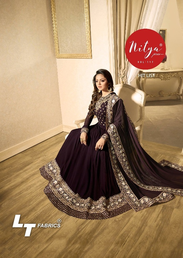 378f71f77c Lt Nitya 117 hit list Wholesale designer party wear suits Collection best  rate at Pratham Exports - Wholesaler & Exporter of All Brands | Pratham  Exports