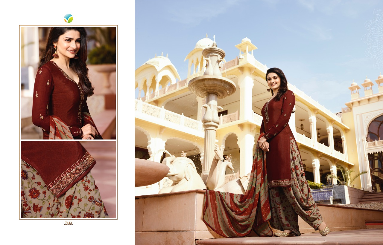 5f9b7e048b DOWNLOAD ZIP · DOWNLOAD PDF VINAY silkina royal crape 16 Wholesale suit  Collection ...
