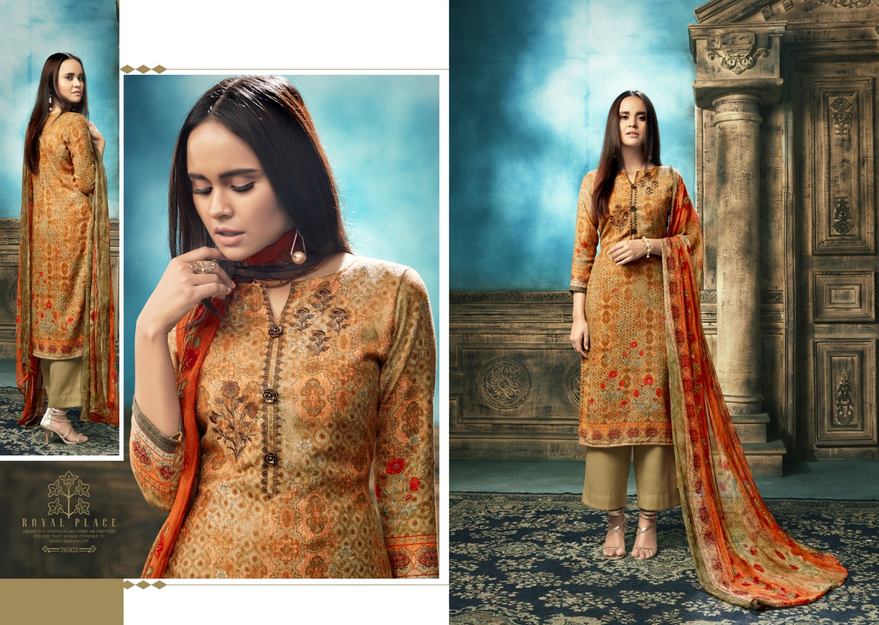 75457a5cb2 DOWNLOAD ZIP · DOWNLOAD PDF Sargam prints launch aaliya pure pashmina  designer prints with work suits Collection