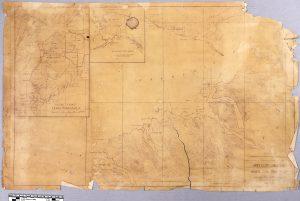 Map of 1948 Limestone and Coal deposits, Homer