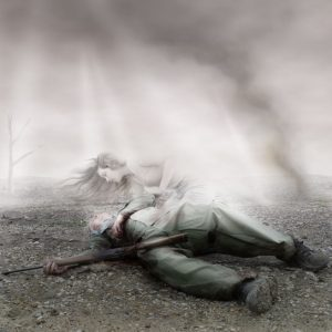 death-of-soldier
