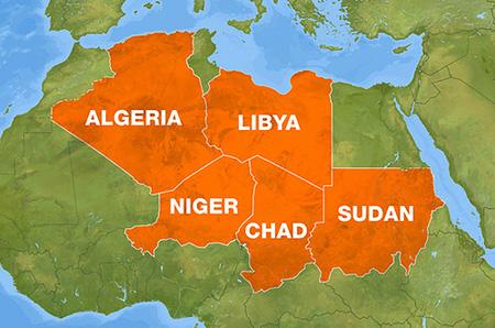 libyen-grenzen