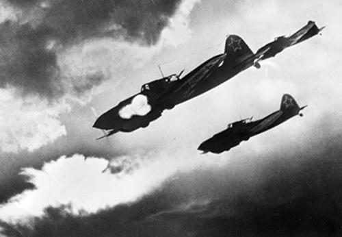 Il-2-Schlachtflugzeuge-sowjetunion