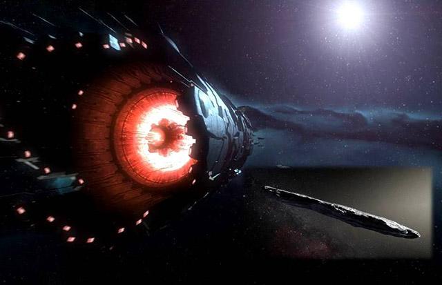 Странные миры:Oumuamua и секретная миссия Аполлон 20 (видео)  Источник  Titel-rmschomap221217