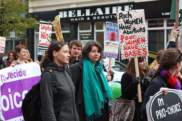 belfast abortion protest