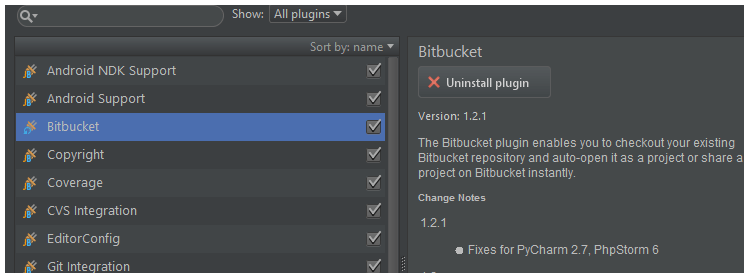 BitBucket Plug-in