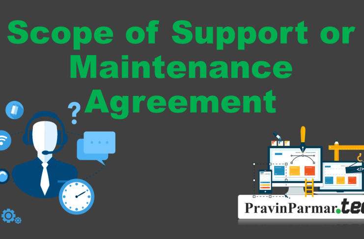 Scope of support agreement