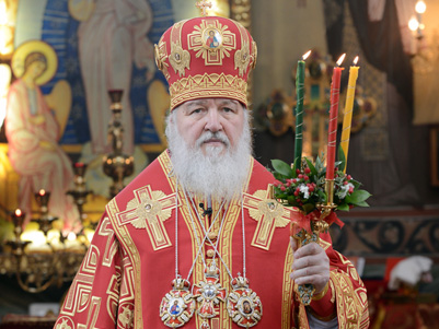 Paschal message by His Holiness Patriarch Kirill of Moscow and All Russia