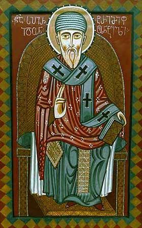 Святитель Спиридон Тримифунтский. Икона