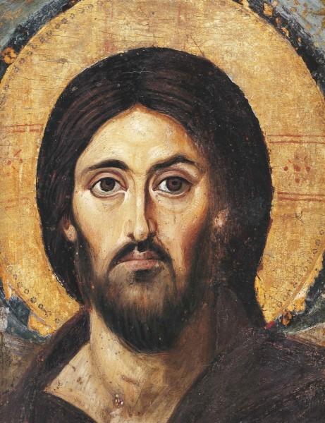 Образ Спасителя из монастыря св. Екатерины на Синае