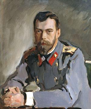 Валентин Серов. Портрет Императора Николая II. 1900 г.