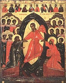 Воскресение - сошествие во ад. XIV в.