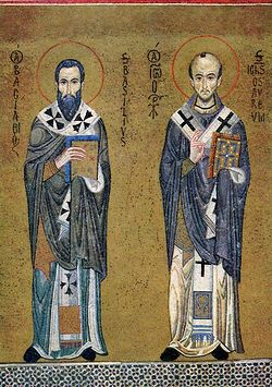 Святители Василий Великий и Иоанн Златоуст