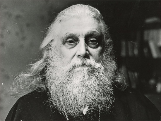 Bishop Basil (Rodzyanko) in Pochaev. Photo by the author