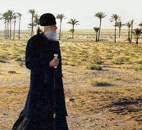 Bishop Basil (Rodzyanko) in the desert