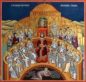 Image result for 1st Council of Nicea