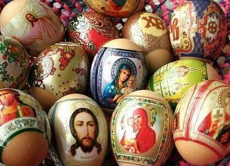 Яйца с образами / Православие.Ru