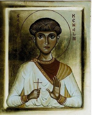Icon of St. Kenelm