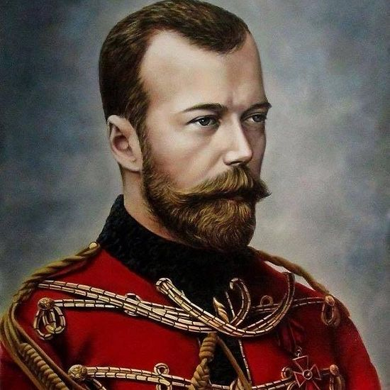 By the Grace of God, His Imperial Majesty Nicholas II Alexandrovich, The Emperor and Autocrat of All the Russias (1868-1918, r. 1894-1917).