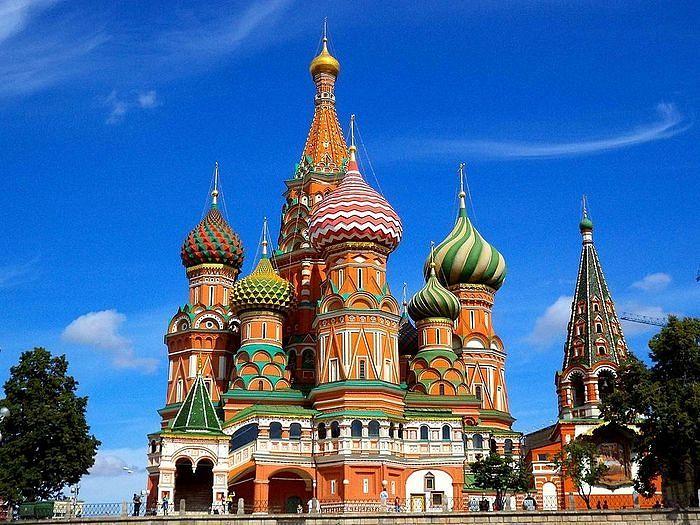 Храм Василия Блаженного на Красной площади отмечает 455 ...