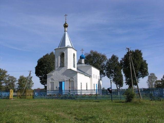 Свято-Введенский храм с. Любышь