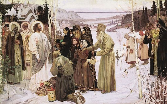 Mikhail Nesterov. Holy Rus, 1901–06