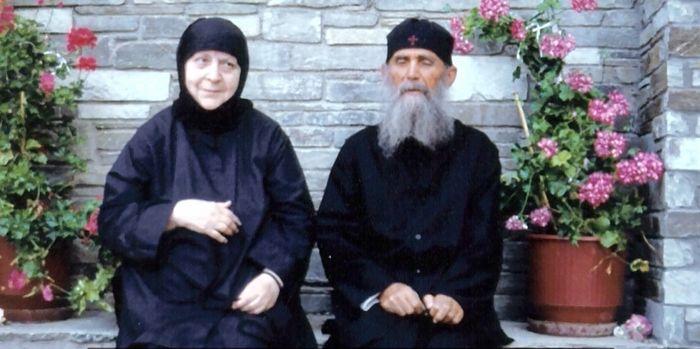 Elder Ephraim of Arizona and Abbess Macrina.