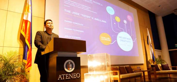 "PRAXIS mounts the first Jose ""Totoy"" Avellana Annual Memorial Lecture in Ateneo"