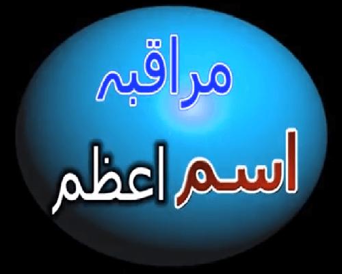 Ism e Azam Allah ka maraqaba