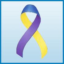 Bladder cancer ribbon color