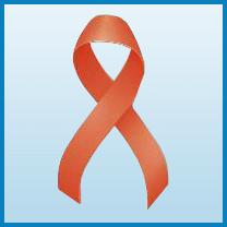 Kidney Cancer ribbon color