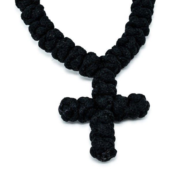 Magnificent 100 Knot Black Prayer Necklace