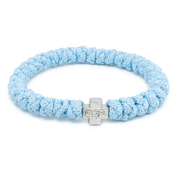 Blue Prayer Bracelet